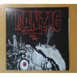 DANZIG - LIFE WITHOUT A NET DEMO 1987 - LP