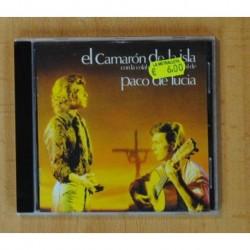 CAMARON DE LA ISLA / PACO DE LUCIA - CAMARON DE LA ISLA CON LA COLABORACION DE PACO DE LUCIA - CD