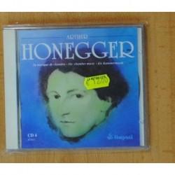 ARTHUR HONEGGER - LA MUSIQUE DE CHAMBRE CD 4 - CD
