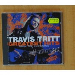 TRAVIS TRITT - GREATEST HITS FROM THE BEGINNING - CD
