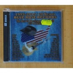 VARIOS - 1995 2015 20 YEARS VLUE ROSE RECORDS - CD
