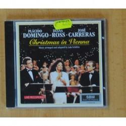 PLACIDO DOMINGO / DIANA ROSS / JOSE CARRERAS - CHRISTMAS IN VIENNA - CD
