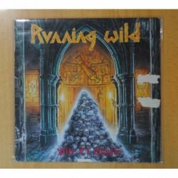 RUNNING WILD - PILE OF SKULLS (VINILO CON MARCAS DE USO PERO SIN PROBLEMAS DE AUDIO) - LP