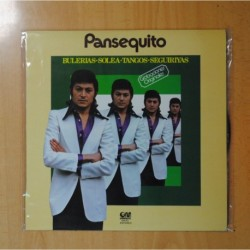 PANSEQUITO - BULERIAS SOLEA TANGOS SEGUIRIYAS - LP