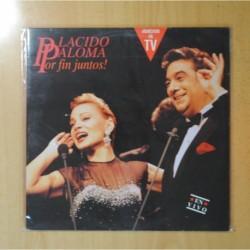 PLACIDO DOMINGO / PALOMA SAN BASILIO - PLACIDO PALOMA POR FIN JUNTOS! - GATEFOLD - 2 LP