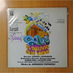 ARMANDO TROVAIOLI - EL DILUVIO QUE VIENE - GATEFOLD - 2 LP