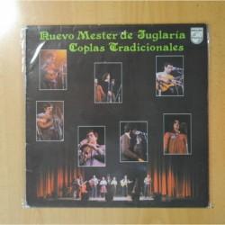 NUEVO MESTER DE JUGLARIA - COPLAS TRADICIONALES - LP