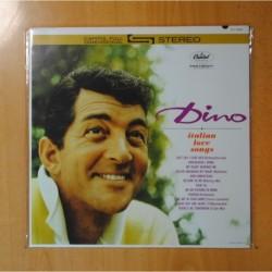 DINO - ITALIAN LOVE SONGS - LP