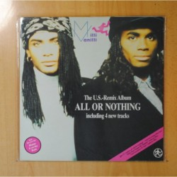 MILLI VANILLI - ALL OR NOTHING - GATEFOLD - LP