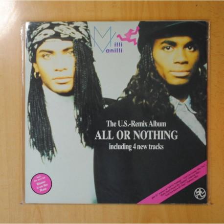 MILLI VANILLI - ALL OR NOTHING - GATEFOLD - LP