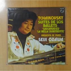 TCHAIKOVSKY / SEIJI OZAWA - SUITES DE LOS BALLET CASCANUECES / LA BELLA DURMIENTE - LP