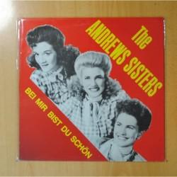 THE ANDREWS SISTERS - BEI MIR BIST DU SCHON - LP