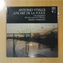 ANTONIO VIVALDI - UN ART DE LA FUGUE - GATEFOLD - LP