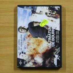 EL ULTIMATUM DE BOURNE - DVD