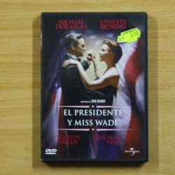 EL PRESIDENTE Y MISS WADE - DVD