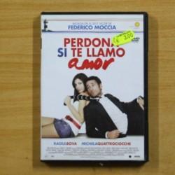 PERDONA SI TE LLAMO AMO - DVD
