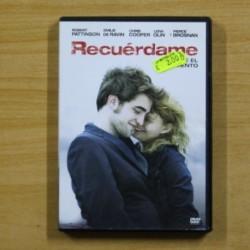 RECUERDAME - DVD