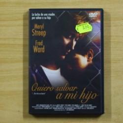 QUIERO SALVAR A MI HIJO - DVD