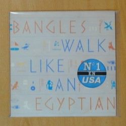 BANGLES - WALK LIKE AN EGYPTIAN / ANGELS DON´T FALL IN LOVE - SINGLE