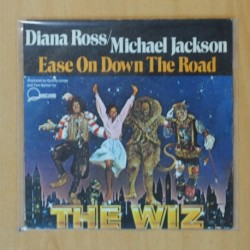 DIANA ROSS & MICHAEL JACKSON - THE WIZ B.S.O. - EASE ON DOWN THE ROAD - SINGLE