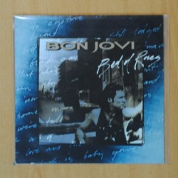 BON JOVI - BED OF ROSES / STARTING ALL OVER AGAIN - SINGLE