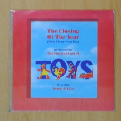WENDY & LISA - TOYS B.S.O. - THE CLOSING OF THE YEAR / INSTRUMENTAL - SINGLE