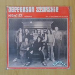 JEFFERSON STARSHIP - MIRACLES / AL GARIMASU - SINGLE