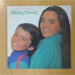 ANTONIO Y CARMEN - ENTRE COCODRILOS - LP