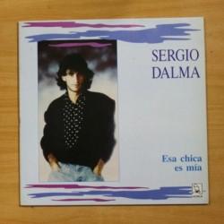 SERGIO DALMA - ESA CHICA ES MIA - CONTIENE POSTER - MAXI