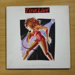 TINA TURNER - TINA LIVE - CONTIENE LIBRETO - GATEFOLD - 2 LP