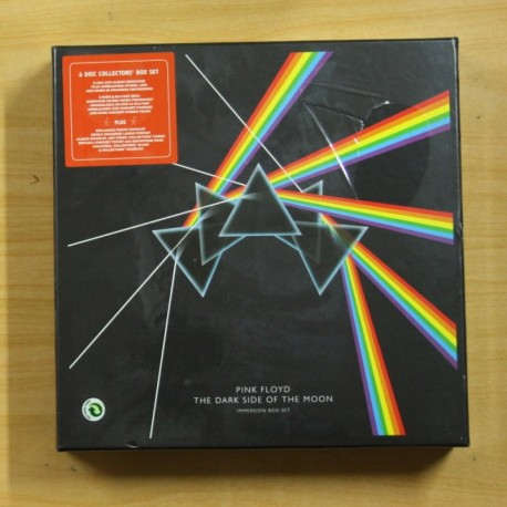 PINK FLOYD - THE DARK SIDE OF THE MOON IMMERSION BOX SET - BOX CD