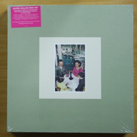 LED ZEPPELIN - PRESENCE - BOX LP