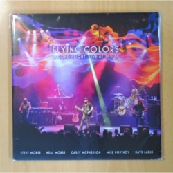 FLYING COLORS - SECOND FLIGHT: LIVE AT THE Z7 - GATEFOLD - 3 LP