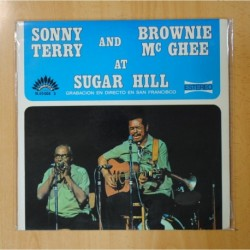 SONNY TERRY AND BROWNIE MC GHEE - AT SUGAR HILL - LP