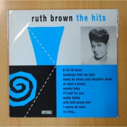 RUTH BROWN - THE HITS - LP