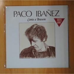 PACO IBAÑEZ - CANTA A BRASSENS - LP