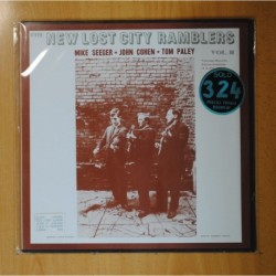MIKE SEEGER, JOHN COHEN & TOM PALEY - NEW LOST CITY RAMBLERS - LP
