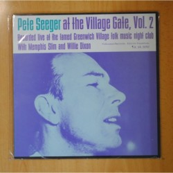 PETE SEEGER - AT THE VILLAGE CAFE VOL 2 - LP
