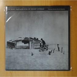 WOODY GUTHRIE - DUST BOWL BALLADS - LP