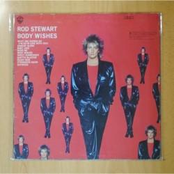 ROD STEWART - BODY WISHES - LP