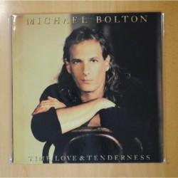 MICHAEL BOLTON - TIME LOVE & TENDERNESS - LP