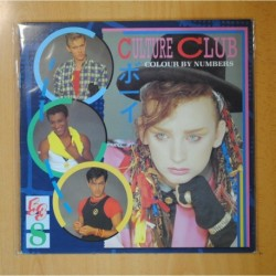 CULTURE CLUB - COLOUR BY NUMBERS - LP