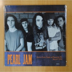 PEARL JAM - LIVE AT CIVIC CENTER IN PENSACOLA - LP