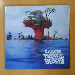 GORILLAZ - PLASTIC BEACH - 2 LP