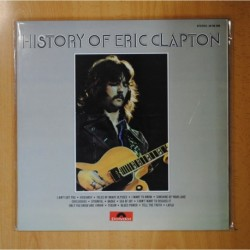 ERIC CLAPTON - THE HISTORY OF ERIC CLAPTON - LP