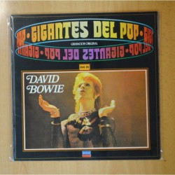 DAVID BOWIE - GIGANTES DEL POP - LP