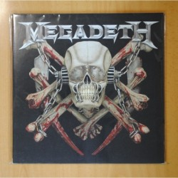 MEGADETH - KILLING IS MY BUSINESS AND BUSINESS IS GOOD THE FINAL KILL - GATEFOLD - 2 LP