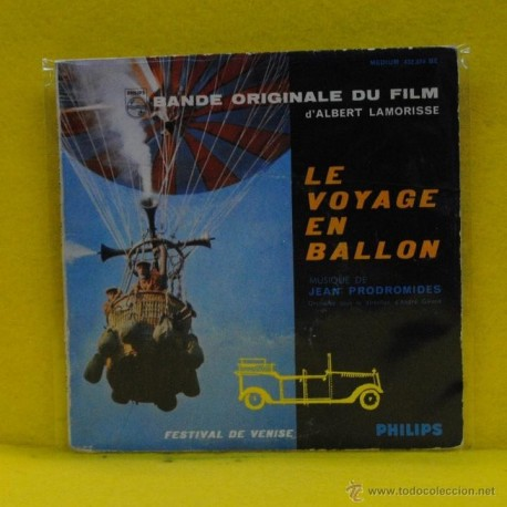 ALBERT LAMORISSE - LE VOYAGE EN BALLON - BSO - SINGLE