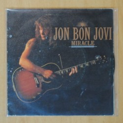 JON BON JOVI - MIRACLE / BANG A DRUM - SINGLE