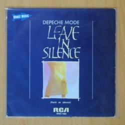DEPECHE MODE - LEAVE THE SILENCE / EXCERPT FROM MY SECRET GARDEN - SINGLE